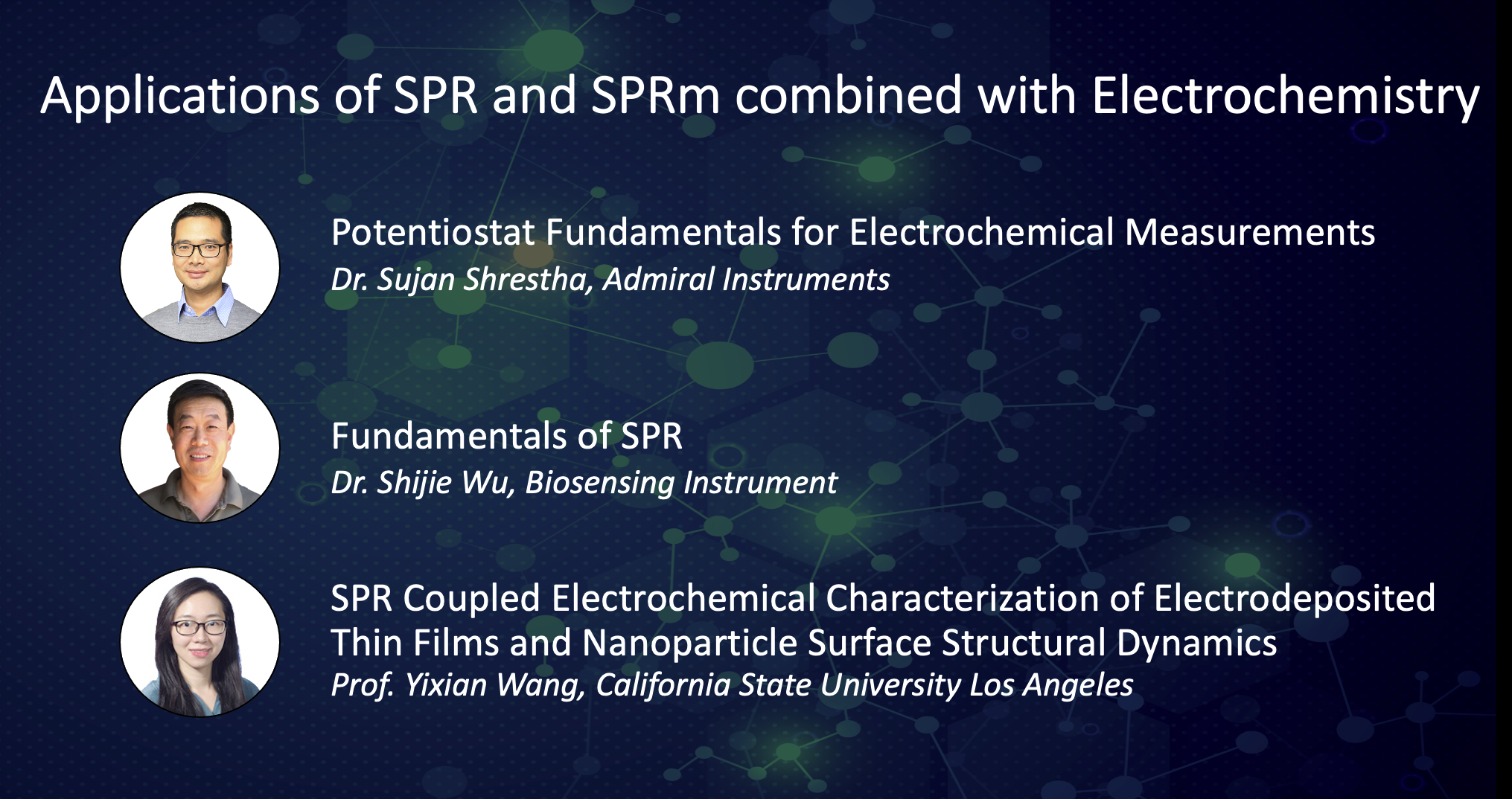 Applications of EC-SPR and SPRm Impedance